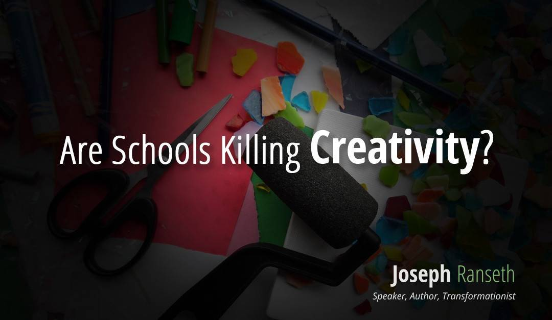 Are Schools Killing Creativity?  notes from the U of M Marketing Association Conference