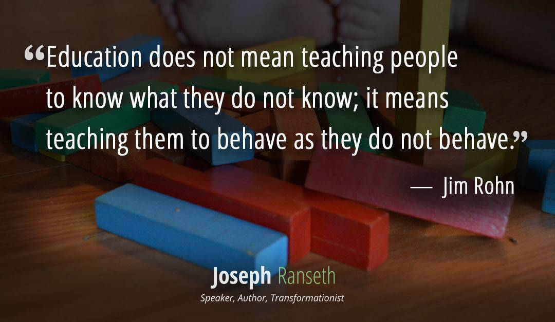 The Influence of Jim Rohn – Quotes on Character