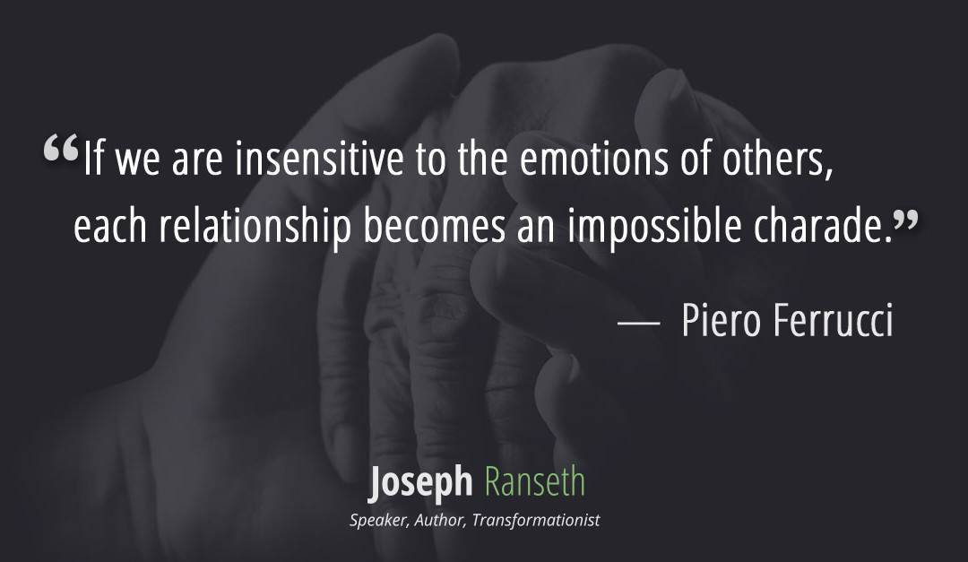 Empathy  Quote from Piero Ferrucci