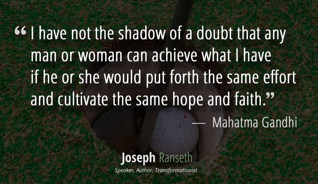 I claim to be no more than an average man…  Mahatma Gandhi quote