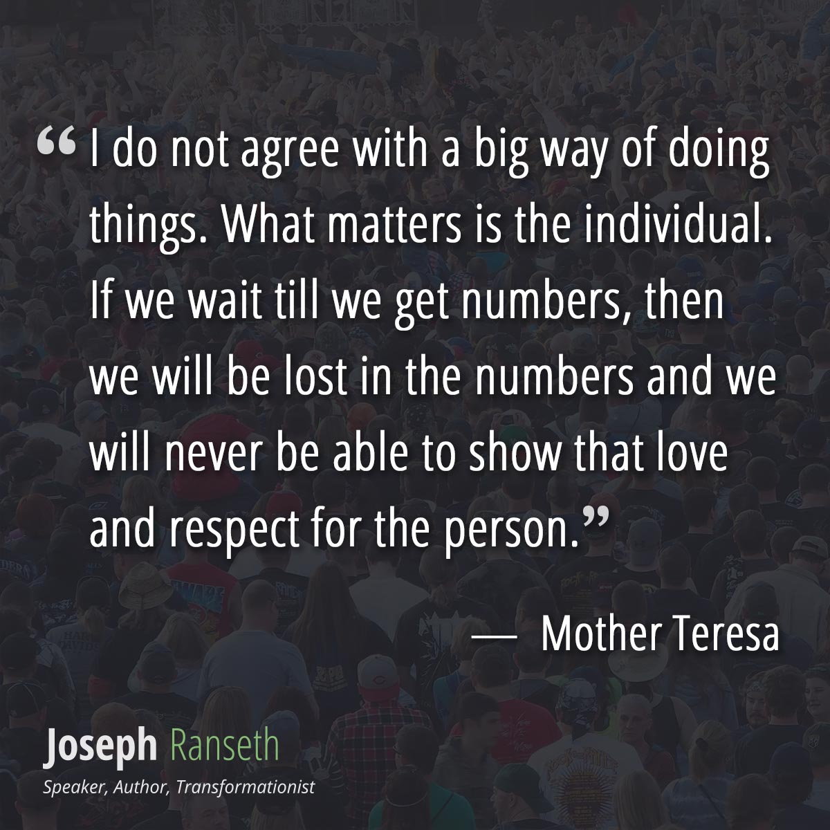 12 Inspiring Mother Teresa Quotes On The Anniversary Of Her Death Joseph Ranseth