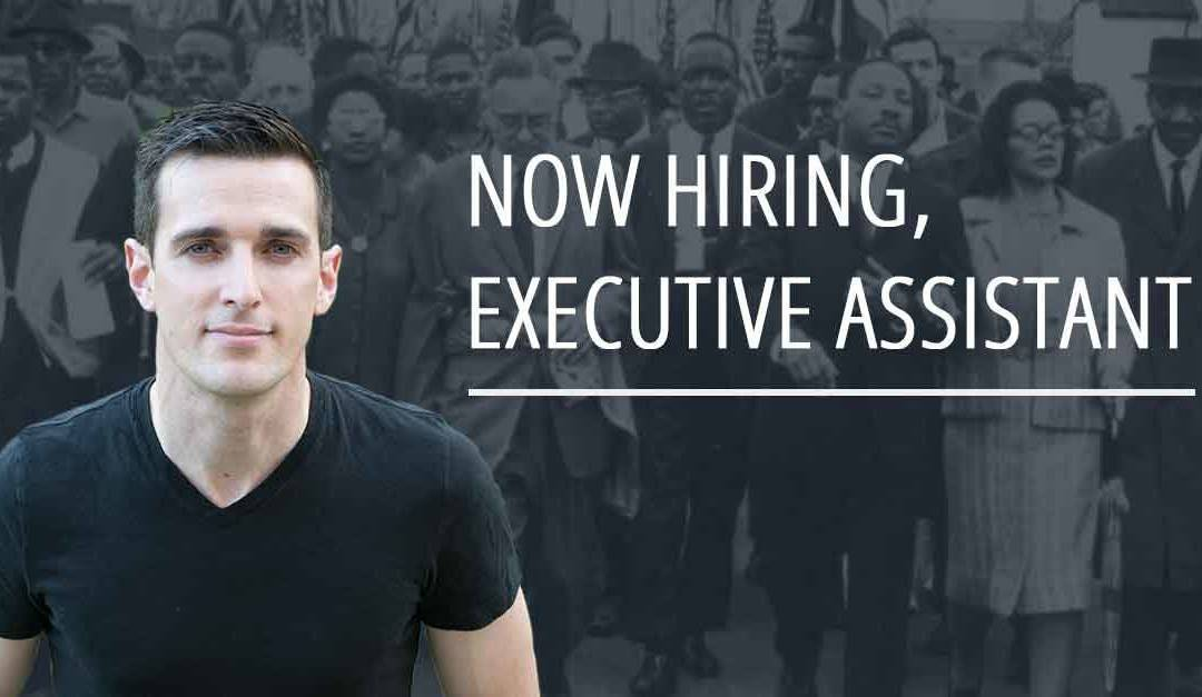 Want to change the world?Now hiring: Executive Assistant, Internship Opportunity