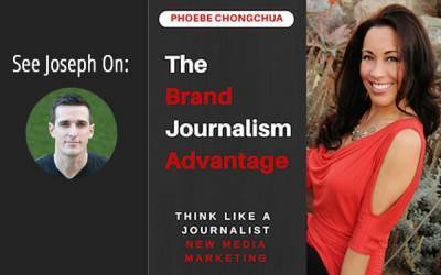 Podcast with Phoebe Chongchua, The Brand Journalism Advantage