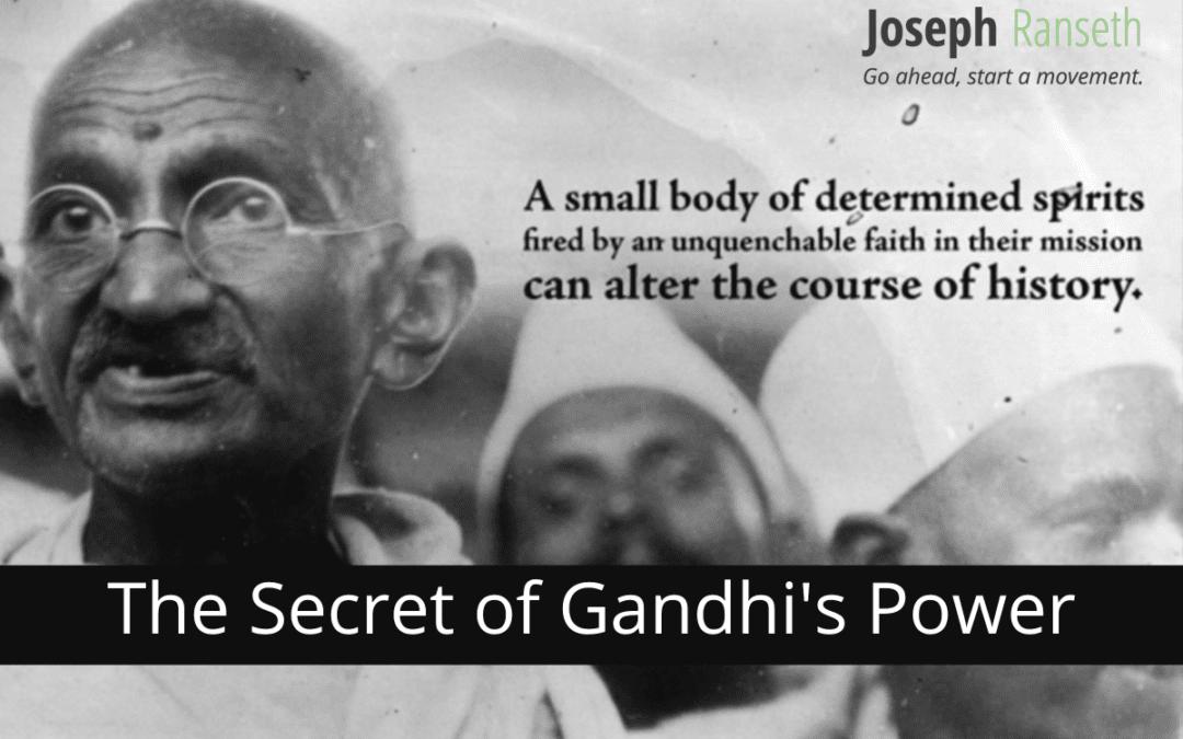 "The Secret To Gandhi's Power: ""Element Zero"""